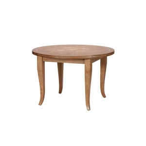 Florence Mango and Stone Circular Dining Table 1
