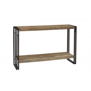 Imari Industrial Mango Console Table