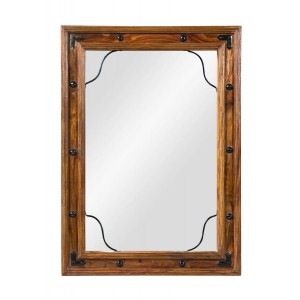 Jali Sheesham Mirror