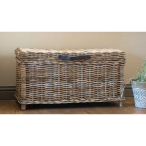 Small Rattan Storage Basket - Size 2 - Natural