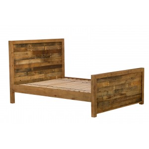 Brooklyn Industrial High Foot Bedstead 150CM