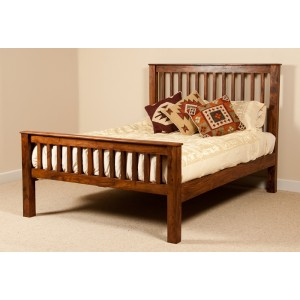 Kashmir Sheesham Double Bed 1