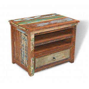 Reclaimed Indian Small TV Unit