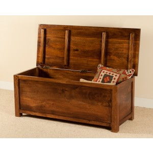Dakota Mango Blanket Box - Large 1