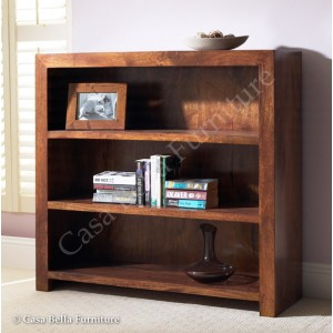 Dakota Mango Small Bookcase 1