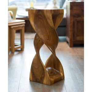 Extra Large Twist Table - Honey