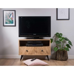 Urban Industrial Mango Small TV Unit