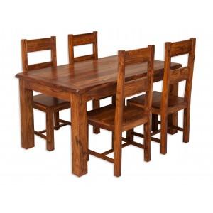 Farmhouse Sheesham 4-Seater Dining Set