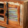 Reclaimed Indian Wide TV Cabinet 2
