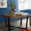 Reclaimed Indian Round Coffee Table 1