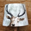 45cm White Stags Head Empire