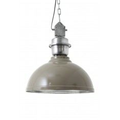 Grey Metal Hanging Wall Light
