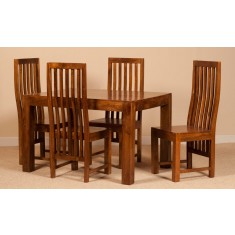 Dakota Mango 4 Seater Dining Set