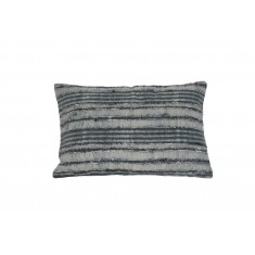 Kemer Grey & White Cushion 40x60cm