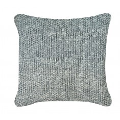 Grey Millange Moss Stitch Cushion