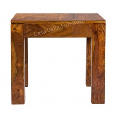 Cuba Sheesham Lamp Table