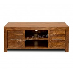 Cuba Sheesham Plasma TV Unit
