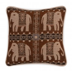 Small Jacquard Cushion - Elephant 1217