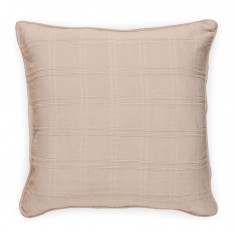 Large Jacquard Cushion - Cream 5092