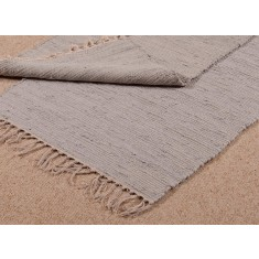 Small Cotton Rug/Door Mat - Blue/Grey (RR912)