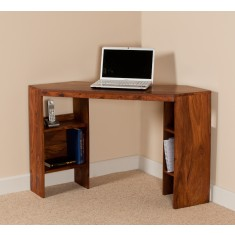 Kashmir Sheesham Corner Desk