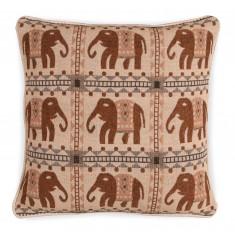 Large Jacquard Cushion - Elephant  1217