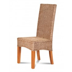 Ibis Rattan Dining Chair - Light Leg