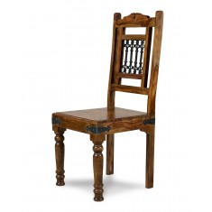 Jali Sheesham Dining Chair