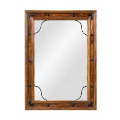 Jali Sheesham Mirror - Small