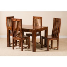 Kashmir Sheesham 4-Seater Dining Set