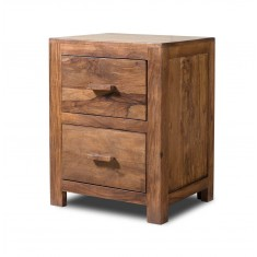 Kashmir Stonewashed Sheesham Bedside Table