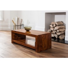 Kashmir Sheesham Open Coffee Table