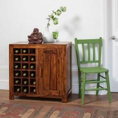 Kashmir Sheesham Wine Cabinet