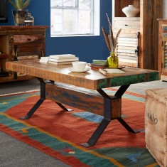 Reclaimed Indian Large Coffee Table
