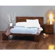 Dakota Mango King Size Bed
