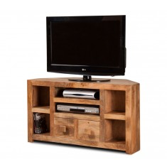 Dakota Light Mango Corner TV Unit