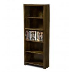 Dakota Dark Mango DVD Bookshelf