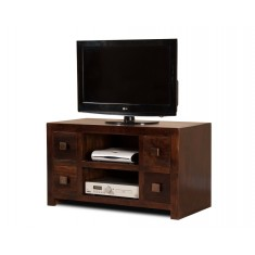 Dakota Dark Mango Large TV Unit