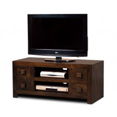 Dakota Dark Mango Low TV Unit