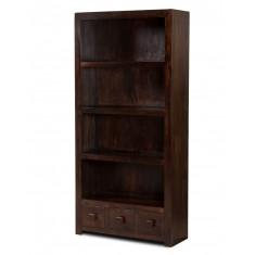 Dakota Dark Mango Tall Bookcase