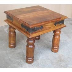 Jali Sheesham Lamp / End Table