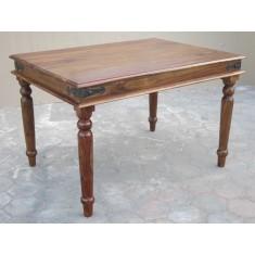 Jali Sheesham 120cm Dining Table