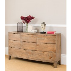 Antigua Reclaimed 8 Drawer Wide Chest