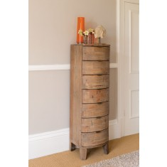 Antigua Reclaimed 7 Drawer Tall Chest