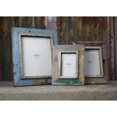 Bera Reclaimed Wooden Picture Frame 6x4