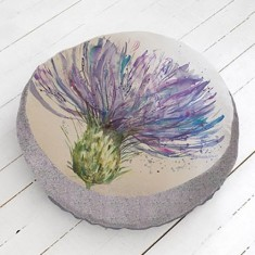 Arthouse Thistle Floor Cushion