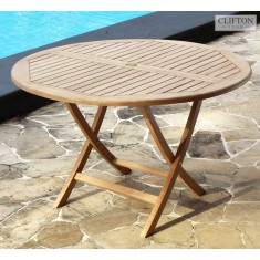 Teak Wiltshire 1.2m Round Table