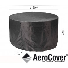 Garden Set Aerocover Round - 150cm(W) x 85cm(H)