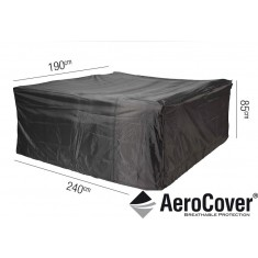 Garden Set Aerocover - 240cm(W) x 85cm(H) 190cm(D)