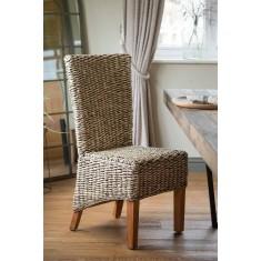 Milano Rattan Dining Chair - Light Leg